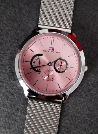 Walentynki zegarek Tommy Hilfiger damski regulowana bransoleta