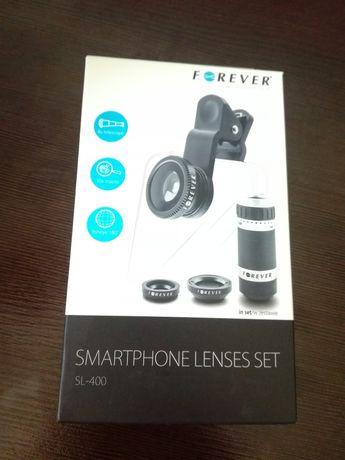 Obiektyw do telefonu uniwersalny aparat Forever SL-400 4w1