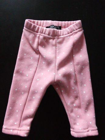 Spodnie dziewczęce 68