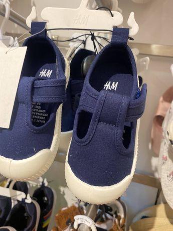 Мокасины H&M 800р.