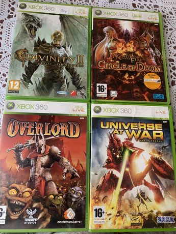 Gry xbox 360 przygodowe Universe at war, Overlord, King Dom under Fire