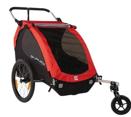 2w1 przyczepka rowerowa dla 1 lub 2 dzieci BURLEY model HONEY BEE