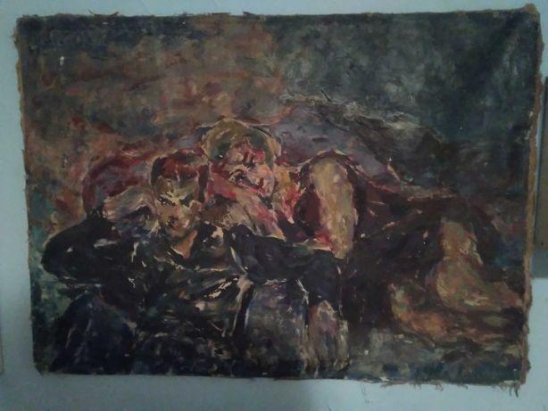 Stary obraz Ałła Laskowik
