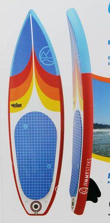 Prancha de Surf insuflável Jimmy Styks. Nova e ainda embalada).