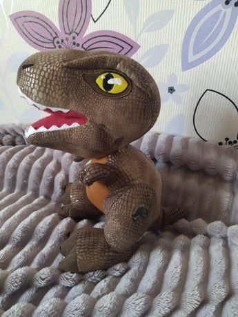 Мягкая игрушка динозавр-тиранозавр