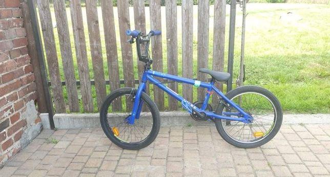 Rower BMX niebieski