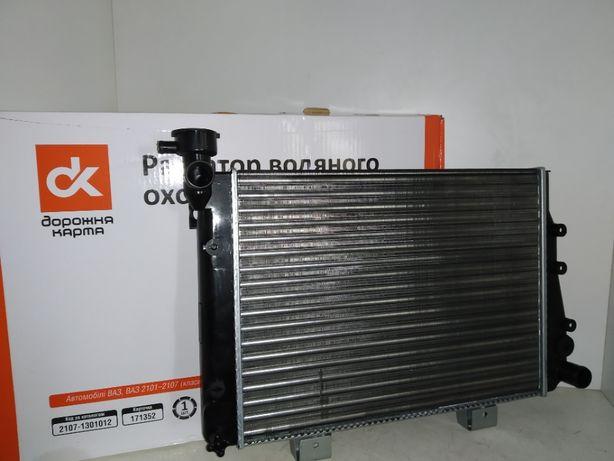 Радиатор охлаждения Ваз Жигули 2104,2105,2107 Дорожная Карта