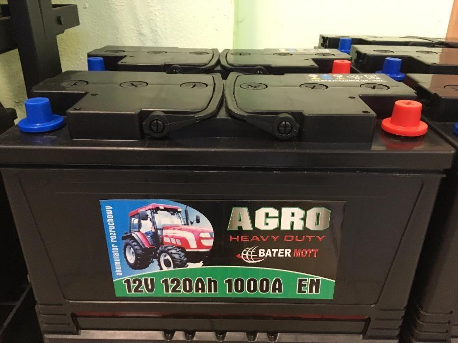 Akumulator BATERMOTT 120Ah 1000A dla rolnictwa!!! Dowóz gratis!!! Krapkowice - image 1