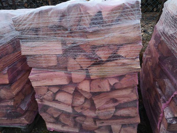 Drewno kominkowe i opałowe paletowane mix standard liściast