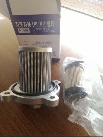 Фильтр грубой, тонкой очистки для LPI, LPG машин Hyundai Kia
