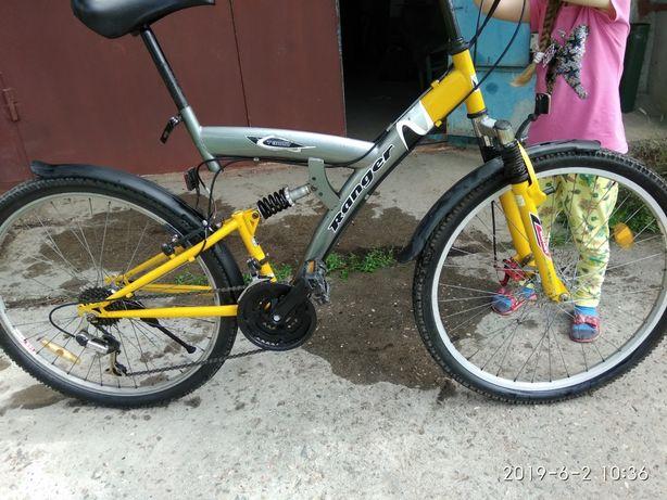 Велосипед рама 19,5. Колеса 26