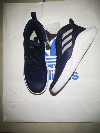 Buty do koszykówki Adidas Ownthegame K Wide w rozm38