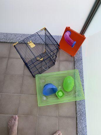 Gaiola hamster em otimo estado