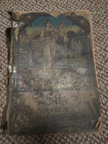Stara medyczna niemiecka książka