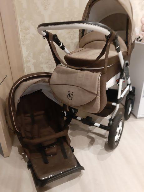 Детская коляска 2 в 1 в идеальном состоянии