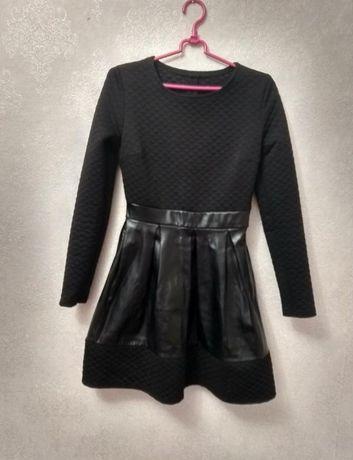 Платье чёрное женское