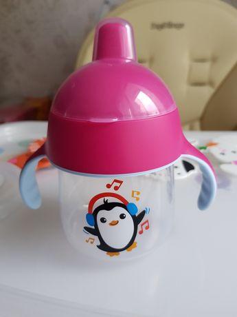 Чашка с носиком и ручками Philips Avent 12+