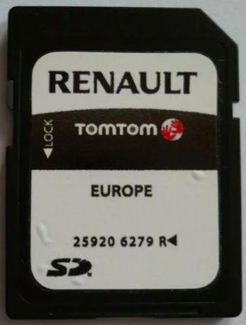 _|_ TomTom Renault Carminat NAWIGACJA GPS - Najnowsze Mapy Fotoradary