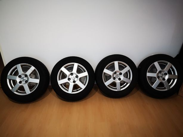 Alufelgi Aluett R15 Kia Honda Hyundai 4x114,3 + opony Barum Polaris 2