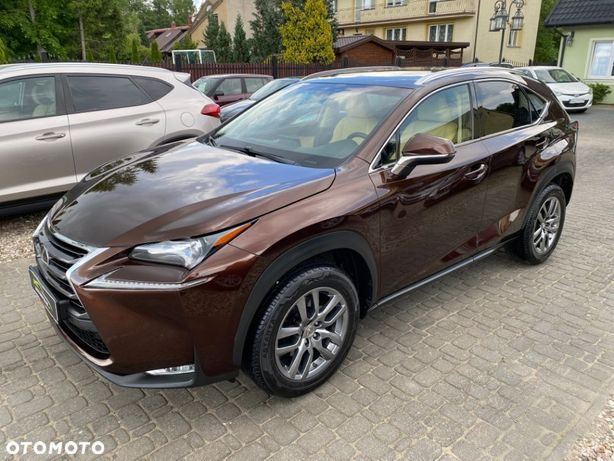 Lexus NX SALON POLSKA Iwłaściciel Bogata Wersja Automat 4x4 Gwarancja Seriws.