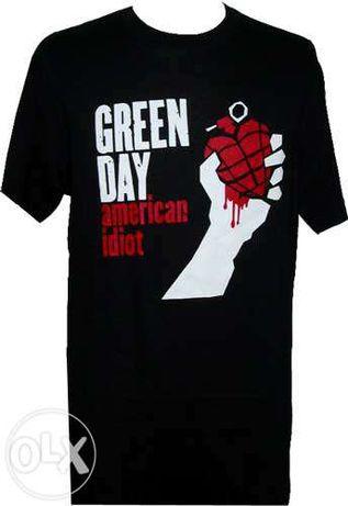 TS Green Day American Idiot Oficial Nova Tamanho S e XL