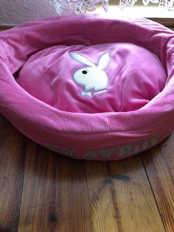 Legowisko PLAYBOY dla psa, kota różowe