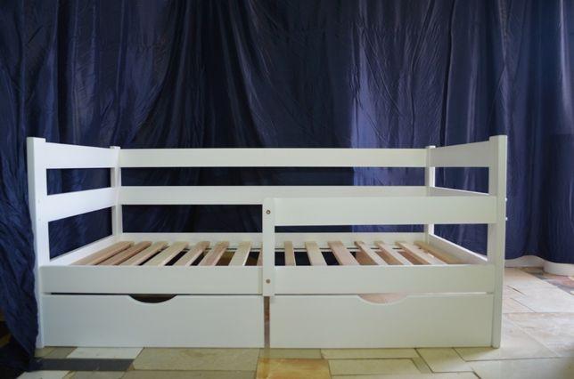 Детская кровать Аня из массива бука. АКЦИЯ!!! Любые размеры.