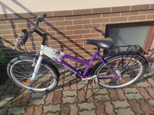 """Rower młodzieżowy 24"""" bardzo ładny"""