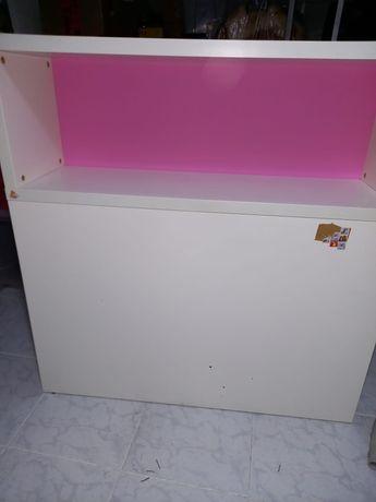 Cabeceira Ikea Rosa