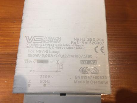 Балласт Vossloh-Schwabe NaHJ 250Вт
