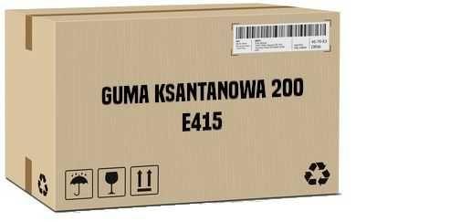 Guma ksantanowa 200 E415 – 25 – 24000 kg – Wysyłka kurierem