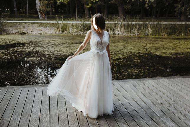 Suknia ślubna BAMAKO w stylu boho