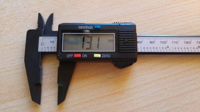 Paquímetro 150 mm, peclisse, craveira ou vernier digital