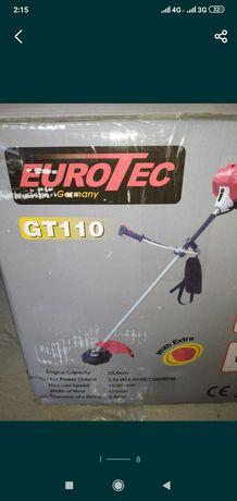 Мотокоса Eurotec GT 110 33.6 куб с ножом и леской 3.6 кВт бензокоса