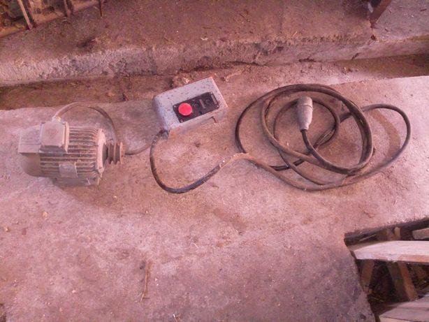 Silnik 1,5kW z przewodem i włącznikiem
