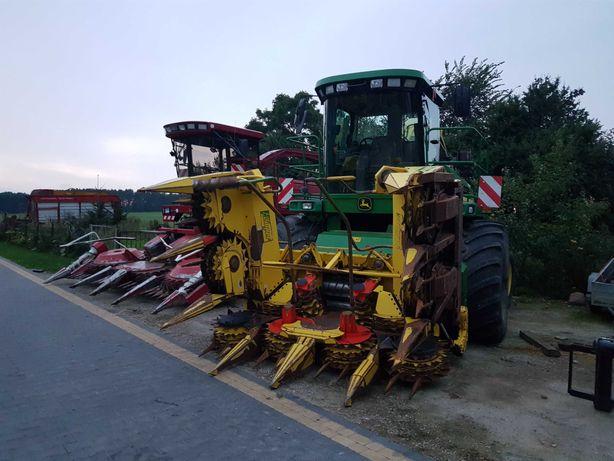 Koszenie kukurydzy Usługi rolnicze