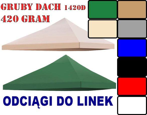 Polski 3x3x2x6 GRUBY 420gr DACH POSZYCIE NAMIOTU Ogrodowego pokrowiec