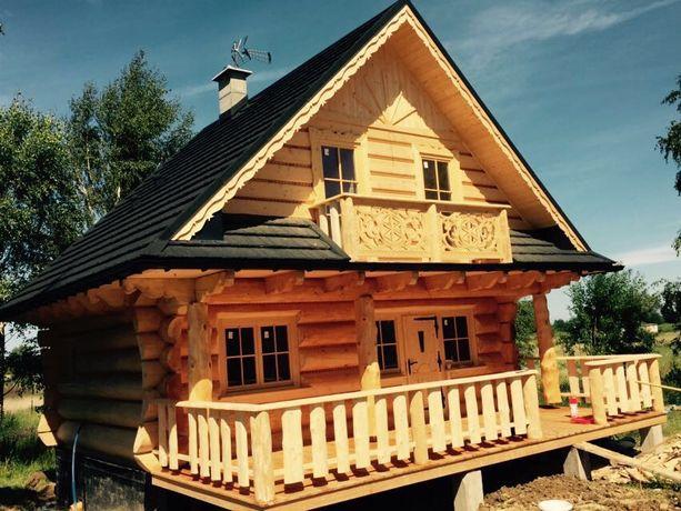 Dom z bali 7x5 Góralski PRODUCENT