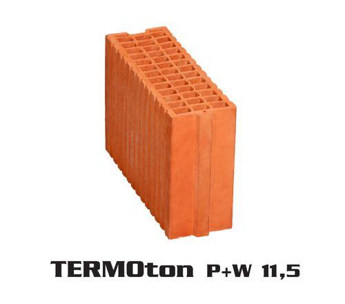 Pustak ceramiczny TERMOton P+W 11,5 cena 3,19 zł / szt dostawa HDS