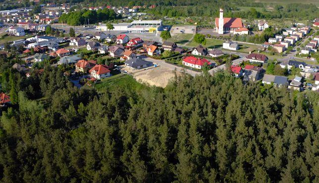 Działka budowlana / rekreacyjna na Mazurach Lidzbark Welski