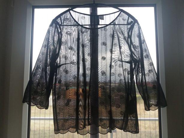 Przezroczysta bluzka HM (42)