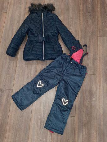 Куртка комбинезон зима (еврозима) для девочки coccodrillo 110 p