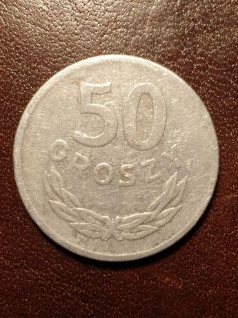 Moneta PRL 50 groszy - 1974 rok