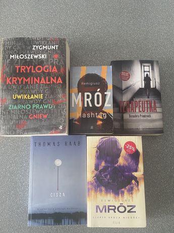 Zestaw książek, Mróz, Miłoszewski, Prandzioch