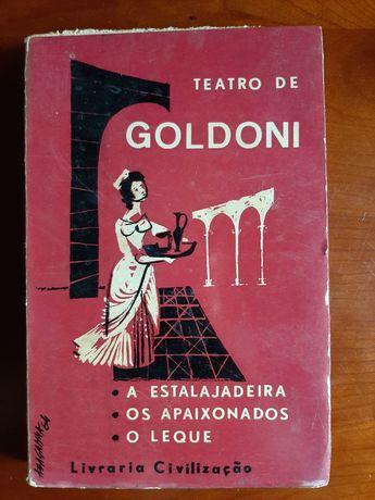 Teatro de Goldoni - Livraria Civilização 1964