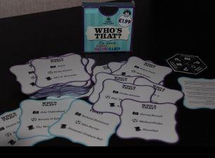 игра настольная карточки who is that? семейная на английском языке