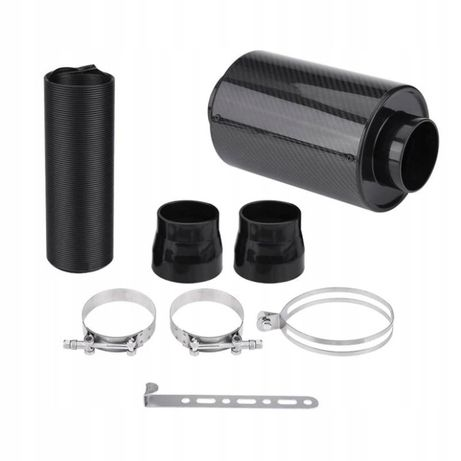 Air Box carbon filtr stożkowy + rura + redukcje off road snorkel