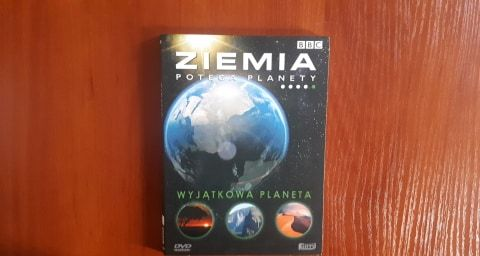 Ziemia potęga planety - Wyjątkowa planeta - film dokumentalny na DVD