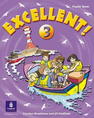 Комплект Excellent рівень 3 Pupil's + Activity book Англійська мова