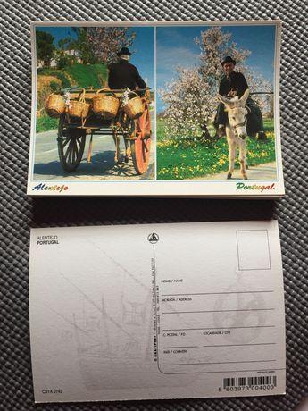 Coleção de Vários postais